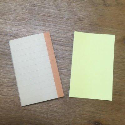 画像1: 【004】【あな吉手帳術公式】あな吉手帳オリジナル付箋(クラフト)【セット有り】